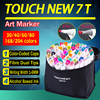 TOUCHNEW T7 Twin Art Markers 60 80 168 Set Colors Alcohol Graphic Drawing Dual Tip Sketch