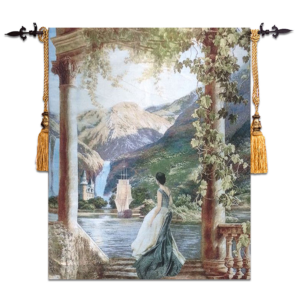 European Style Wall Tapestry Belgium Art Wall Hanging Moroccan Decor Decorative Wall Cloth Tapestries tapisserie tapiz paredEuropean Style Wall Tapestry Belgium Art Wall Hanging Moroccan Decor Decorative Wall Cloth Tapestries tapisserie tapiz pared