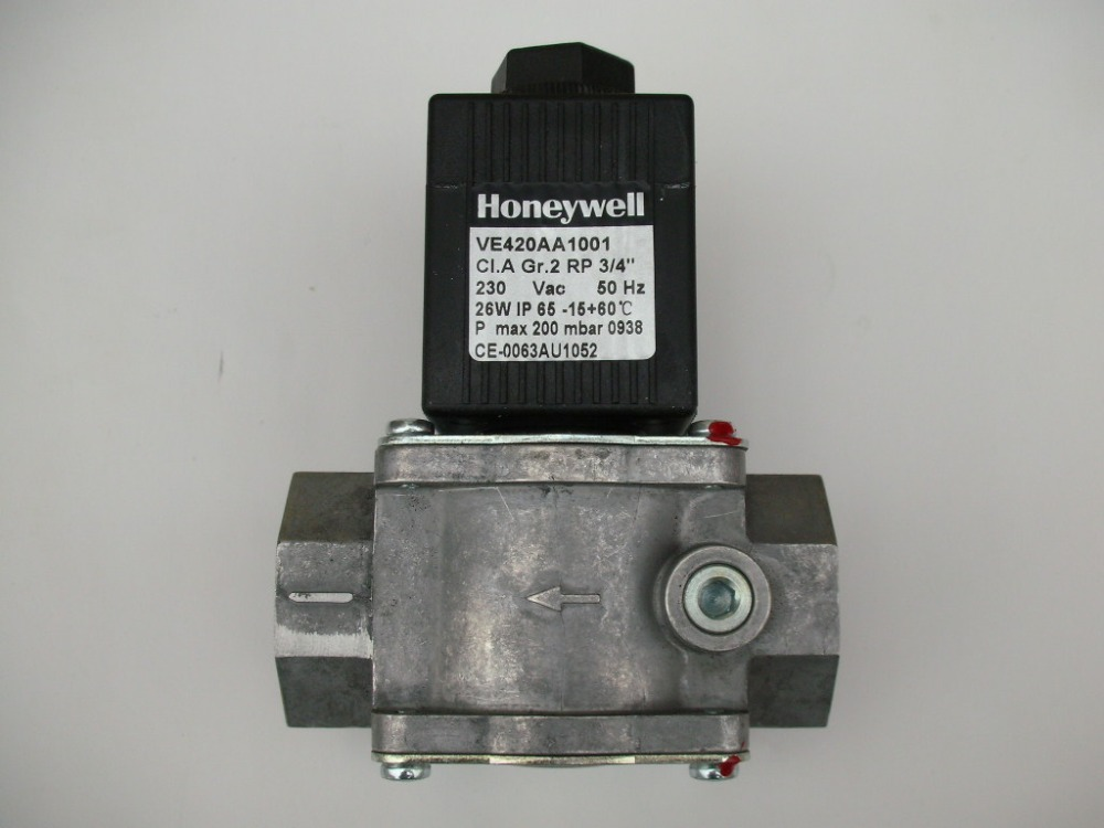 Honeywell Ignition Solenoid Valves VE420AA1001T 3/4'' For gas burner New & Original honeywell ignition solenoid valves ve410aa1003t 3 8 for gas burner new