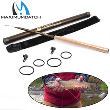Maximumcatch Classical Tenkara Fly Fishing Rod 9/10/11//12/13FT 7:3 ACTION Super Light Traditional Tenkara Rod with Hook keepers
