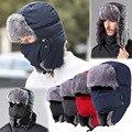 Homens Mulheres de Inverno Ao Ar Livre de Viagem de Esqui Chapéus Com Cap Máscara Capuz