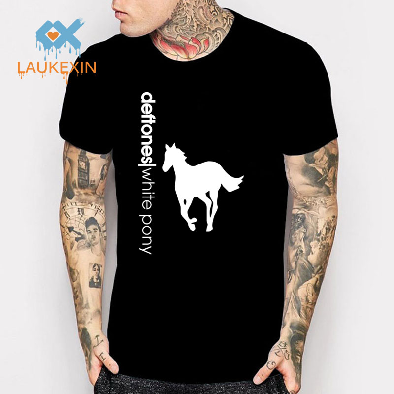 Aliexpress.com: Comprar Nueva deftones white pony logo