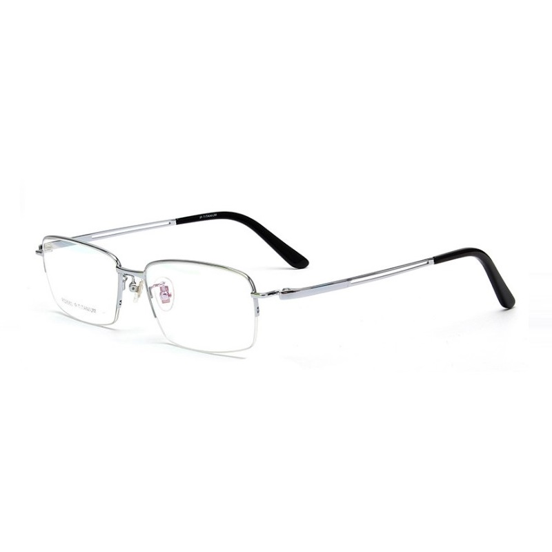 Pure titanium frames business men eyeglasses frames ultra light optical goggles reading glasses male Spectacle frames eyewear in Men 39 s Eyewear Frames from Apparel Accessories