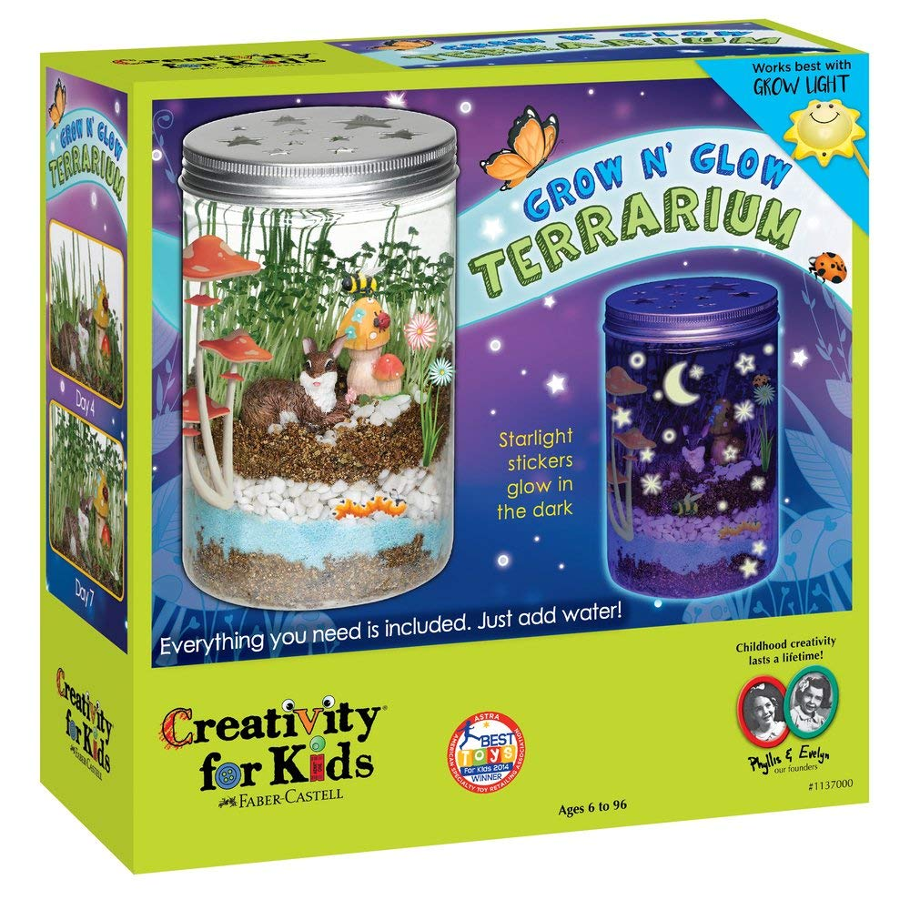 Toys For Children Creativity For Kids Grow Glow Terrariu Experiment Creativity Learning Educational Toy Christmas Birthday Gift