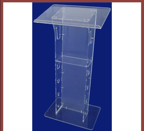 Acrylic Church Lectern / Pulpit Of Bright Acrylic Church Church Podiums Free Shipping Clear Transparent