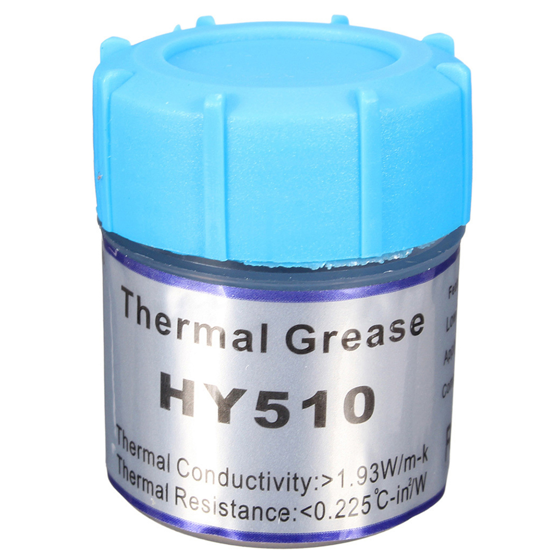 HY510 10g Grey Thermal Conductive Grease Paste For CPU GPU Chipset Cooling hot sale 10g golden thermal grease silicone grease conductive grease paste for cpu gpu chipset cooling compound silicone hy610