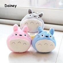Милые 8*7 см Totoro плюшевые игрушки куклы детские мягкие плюшевые игрушки для детей обратно брелок плюшевые игрушки плюшевые радужные цвета MRT08