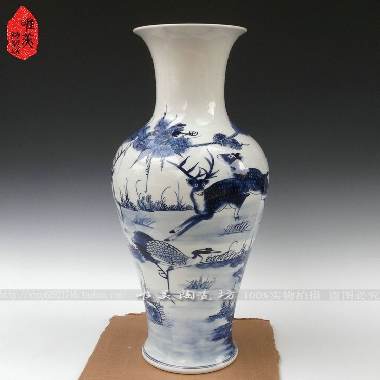 Online buy wholesale large ceramic floor vases from china Large floor vases cheap