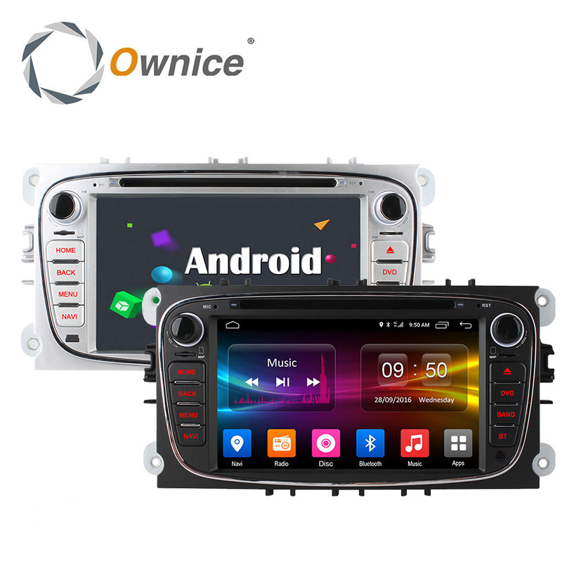 imágenes para 4G LTE Octa Core Android 6.0 2 GB RAM Coche DVD GPS Radio Player para Ford Mondeo Focus C MAX 2007 2008 2009 2010 2011 Kuga Galaxy