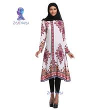 Muslim women's dress new style Islamic lady National wind flower dress Saudi dress robes abaya