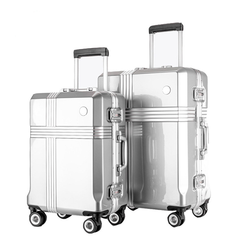 20''24''26''30''32 inches Rolling Luggage Suitcase Boarding Case travel luggage Case Spinner Cases Trolley Suitcase Wheeled Case vintage suitcase 20 26 pu leather travel suitcase scratch resistant rolling luggage bags suitcase with tsa lock