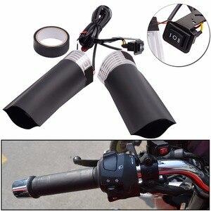 Image 2 - WUPP 1 çift motosiklet gidonu elektrikli sıcak motosiklet ısıtma kolu ısıtmalı sapları kolu ayarlanabilir anahtarı sıcaklık