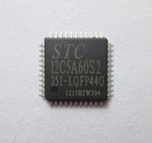 싱글 칩 STC12C5A60S2-35I-LQFP44G 신품 정품
