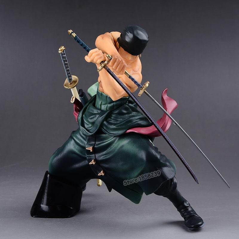 buy anime one piece roronoa zoro figurine. Black Bedroom Furniture Sets. Home Design Ideas