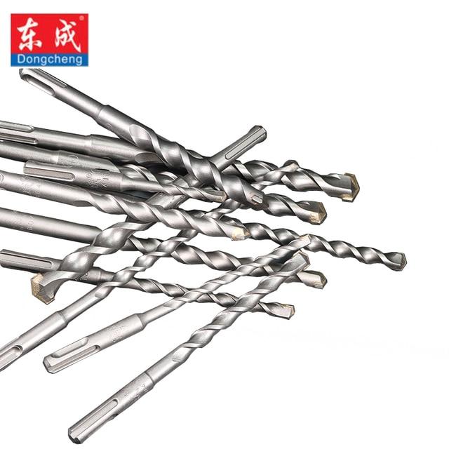 Dongcheng Power Drill & Saw Set HSS Steel Titanium Coated Woodworking Wood Twist Drill Bit Power Tools Mayitr Straight Shank