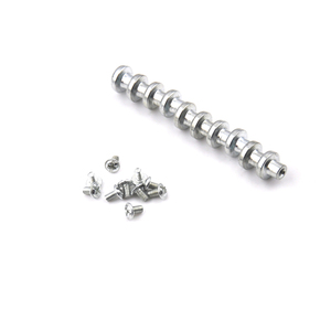 10PCS For Lamp Fitting for Led Ceiling Light Pcb Plate Fix On Walls M3 H:8-10 Mm Magnetic Screw For Led Light, Magnet Kits