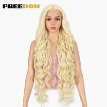 FREEDOM Synthetic Lace Front Wig 40 INCH Blonde Wig