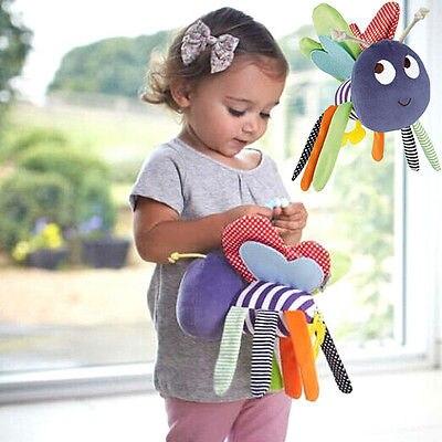 Infant Pram Bed Bells Soft Hanging Toy Animal Rattles Kids