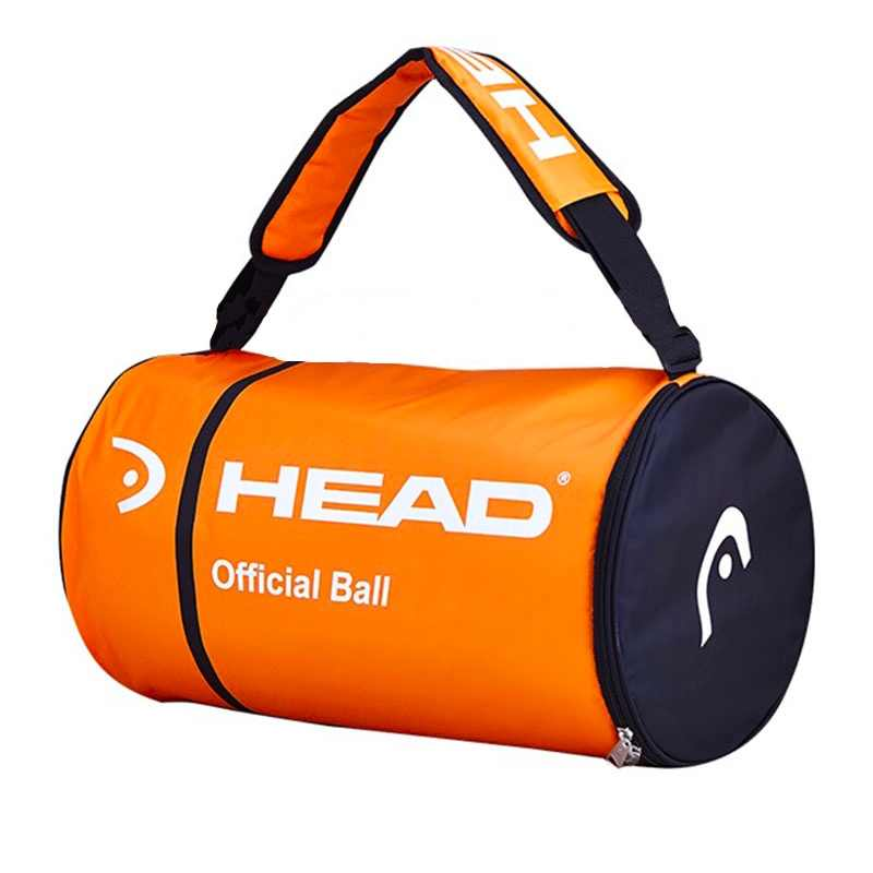 Professional HEAD Tennis Bag Large Capacity For 100 pcs Tennis Balls CCT Insulation Single Shoulder For Male Sports Original