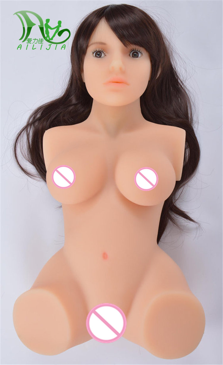 Ailijia Half Sex dolls stock 100% Real TPE with Metal skeleton Life size doll For men Full Silicone real sex doll hot sale 100cm tall life size real silicone japanese anime sex doll in sex doll with metal skeleton for men nsm 165l
