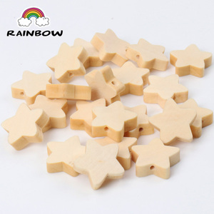 Natural Wooden Material Star S