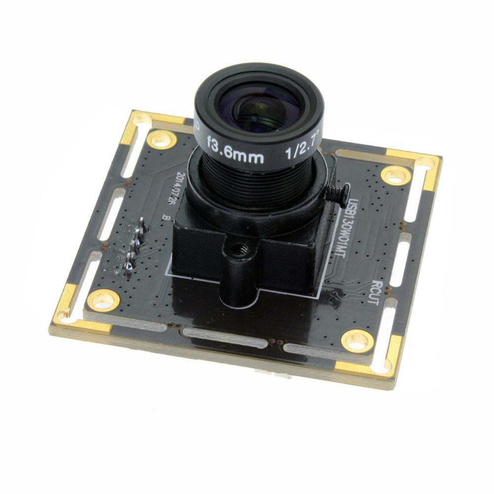 ELP 1.3mp HD AR0130 1/3 CMOS capteur Micro Mini hd industrie hd numérique USB Webcam Module pour l'astronomie endoscope, microscope