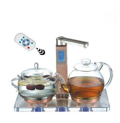 Electric kettle Automatic upper water kettles glass pot electric boiled tea Overheat Protection electric kettle automatic glass cooking pot steaming curing electric heating steam tea black tea boiled overheat protection