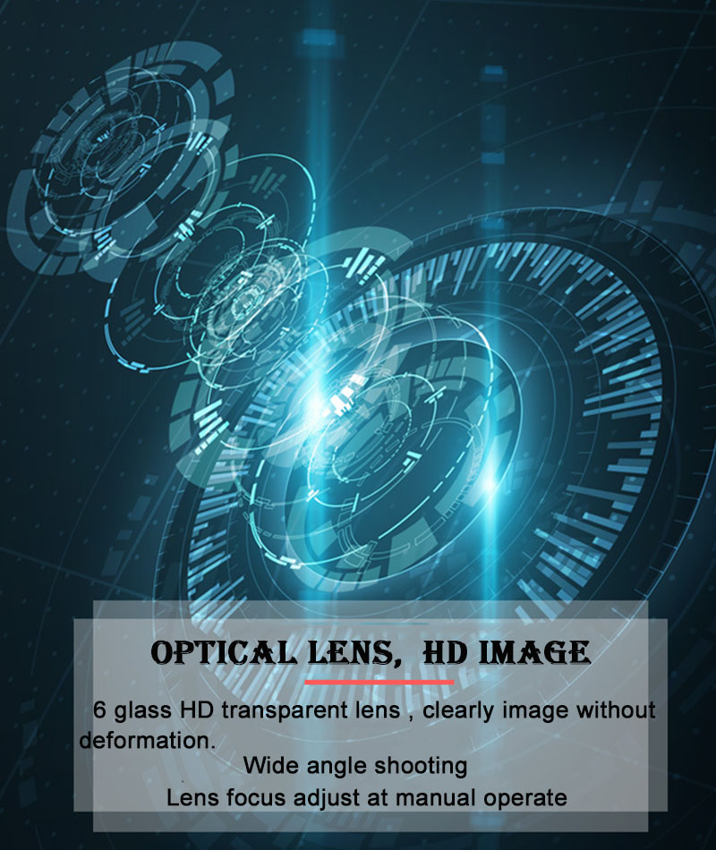 noturna binóculos tela de toque inteligente laser