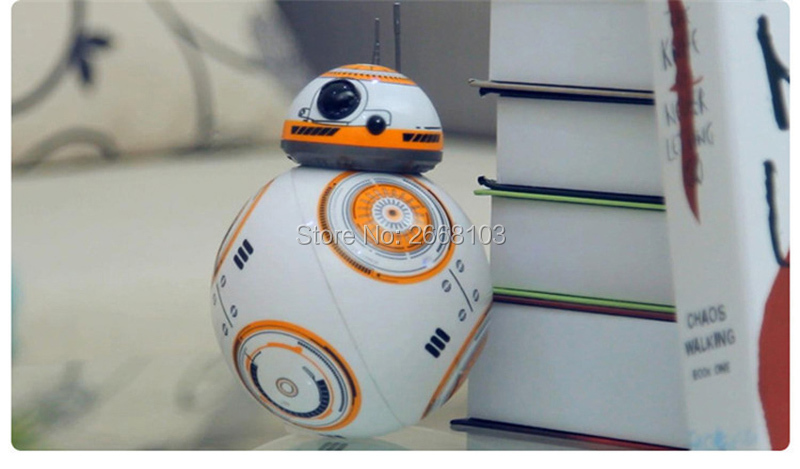 Upgrade Model Ball Star Wars RC BB-8 Droid Robot BB8 Intelligent Robot 2.4G Remote Control Toys For Girl Gifts With Sound Action 21