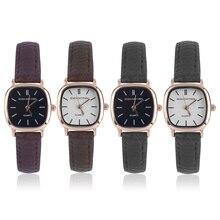 51b493c4059 OUTAD Senhoras Do Vintage Pequeno Mostrador Quadrado Relógio Vestido Moda  Mulher Relógios de Quartzo Relógio de