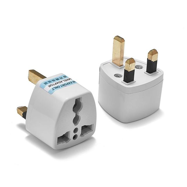 300pcs Universal Uk Travel Adapter Us Usa Au European Eu To British Plug Socket Electric Ac Charger Outlets