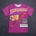 3d de impresión Más El Tamaño backwoods palacio marca thrasher temor de dios ropa bape trasher yeezy de kanye west hip hop camiseta de los hombres
