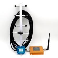 Full set 70dB GSM CDMA 850 Repeater 850MHz 2G 3g Mobile Phone Repeater kit Cell Signal Booster Amplifier+ Indoor Outdoor Antenna