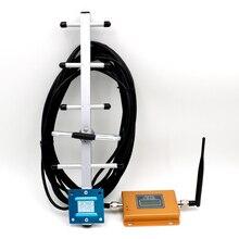 Juego completo de repetidor GSM 850 de 70dB, 850MHz, 2G, 3g, amplificador de señal de celda + antena para interior y exterior