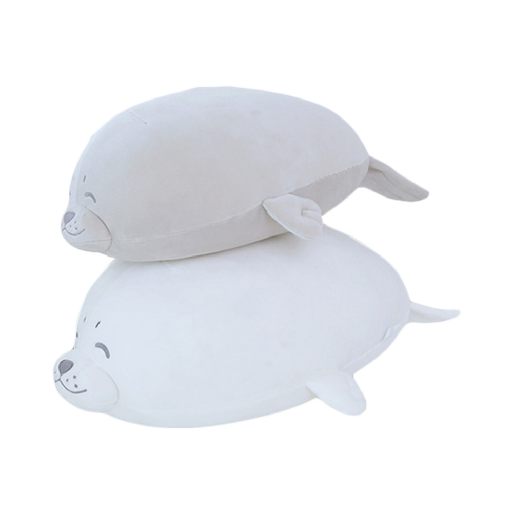 Animal Sea Lion Cosplay Sea Lion Doll Seal Plush Toy Baby Sleeping Pillow Kids Stuffed Grey Toys As gift Accessories