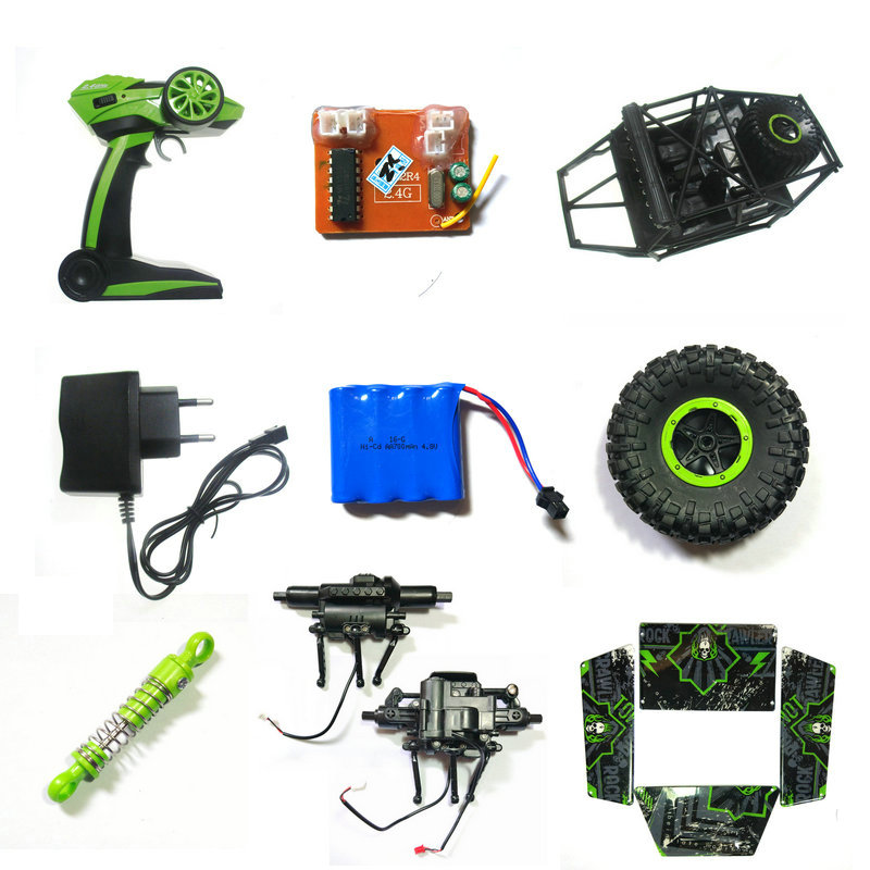 2.4G RC Car 1:18 HB P180 P1801 P1802 P1803 Spare Parts Battery Motor Charger Receiver Remote Control Wheel