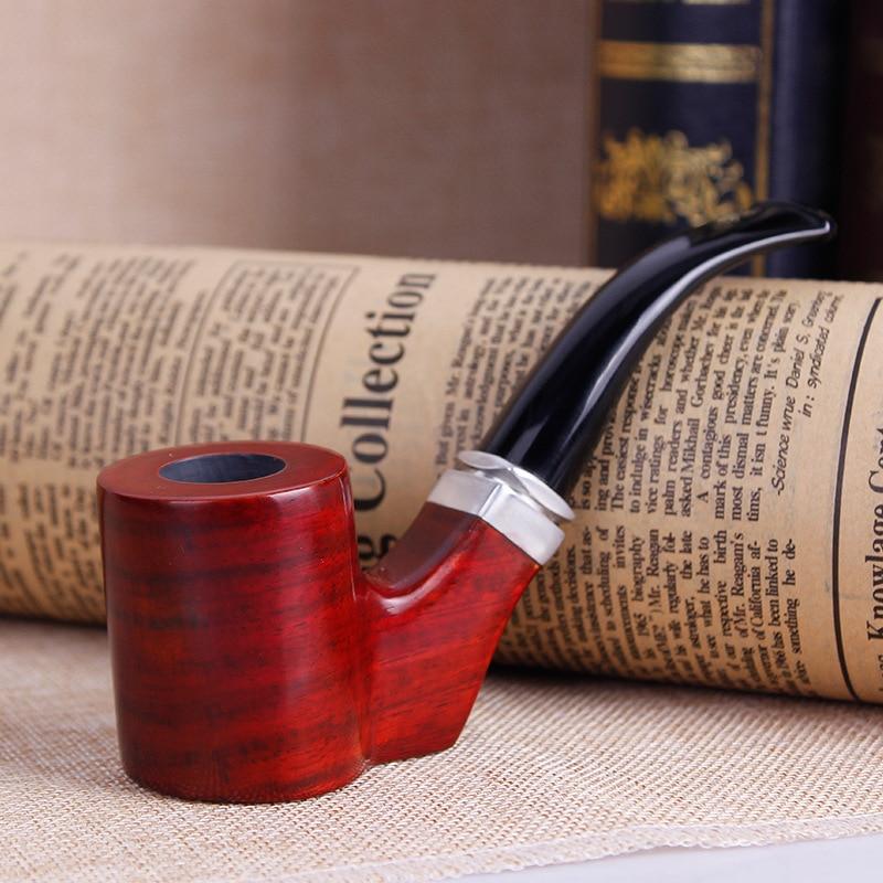 High-grade red sandalwood Big wooden Smoking Pipe  tobacco pipe Hookah Pipes for Smoking Weed Smoker p679