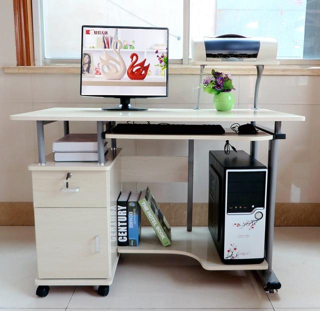 1 1 Meters Desktop Computer Desk With Printer Stand Notes Student