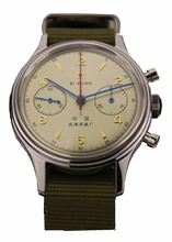 Genuine Seagull Chronograph Mens Wrist watch Pilot Official Reissue 304 St1901 1963 Flieger Old vertion Non limited