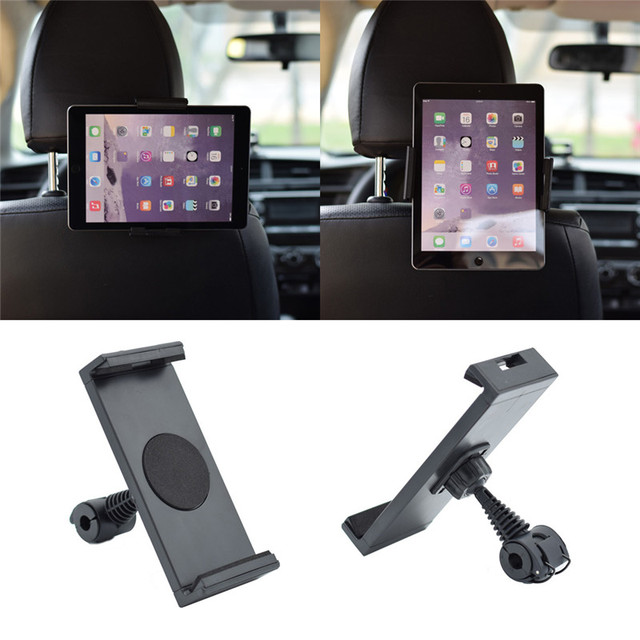 360 Degree Rotating Car Seat Back Headrest Mount Holder Stand For IPhone IPad GPS