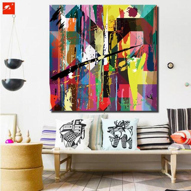 Neues Design Bunte Moderne Abstrakte Leinwand Drucken Wand Kunst Poster  Bild Für Zuhause Wohnzimmer Schlafzimmer Wand Dekoration