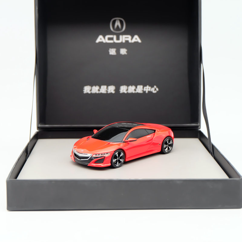 1:43 Acura Concept SUV-X01 Resin Red Limited Edition Auto Car Models Diecast Toys ixo premium x 1 43 stutz blackhawk coupe 1971 red prd002 limited edition collection resin auto models