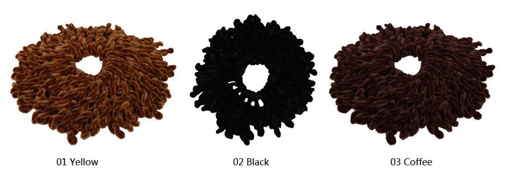 Muslim Women  Twist Scrunchie Elastic Hair Ring Hijab Scarf Headwear Hairbands Band Stretch Turban Head Wrap Bandana Accessories