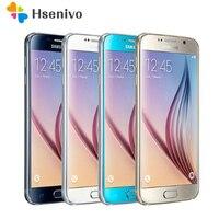 Unlocked Original Samsung Galaxy S6 Android MobilePhone G920F G920V G920A G920P 3GB 32GB 5.1 16.0MP 4G LTE Octa Core Smartphone