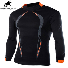 Autumn and Winter Comfortable Long-sleeved T-shirt Men's Outdoor Sports Running T-shirt New Printing Breathable Solid Color 28