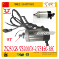 150cc 200CC 250CC ZONGSHEN ZS250GS/ZS200GY-2/ZS150-38Celectric starter starting motor start motorcycle accessories free shipping