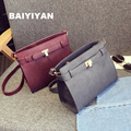2016 New Fall Fashion Casual Female Bag Small Square Package Simple Shoulder Bag Messenger Bag with coin purse