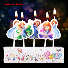 sophia princess candle adult birthday decorative candles for cakes girls sofia party supplies cake