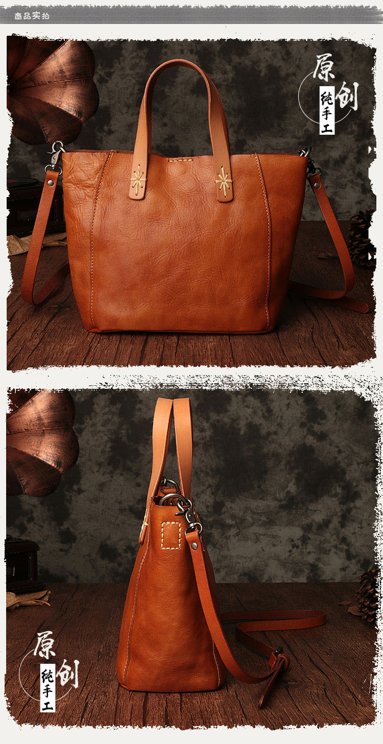 de997da2cb AETOO Japanese art first layer of leather handbags 2017 ladies ...