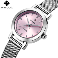 Brand Fashion Women Watches Ladies Casual Quartz Watch Female Clock Silver Stainless Steel Bracelet Dress Watch